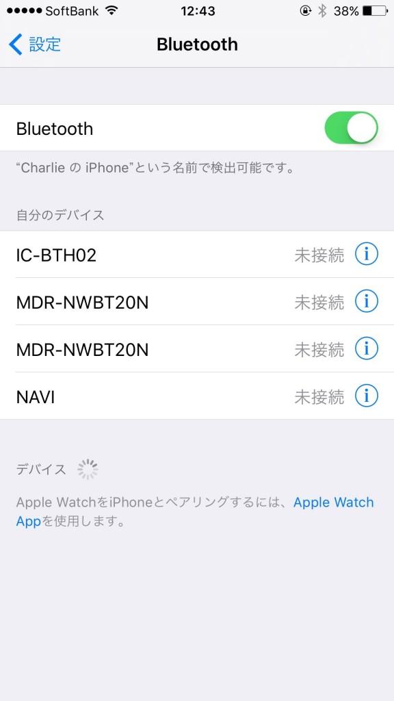 iPhone Bluetooth