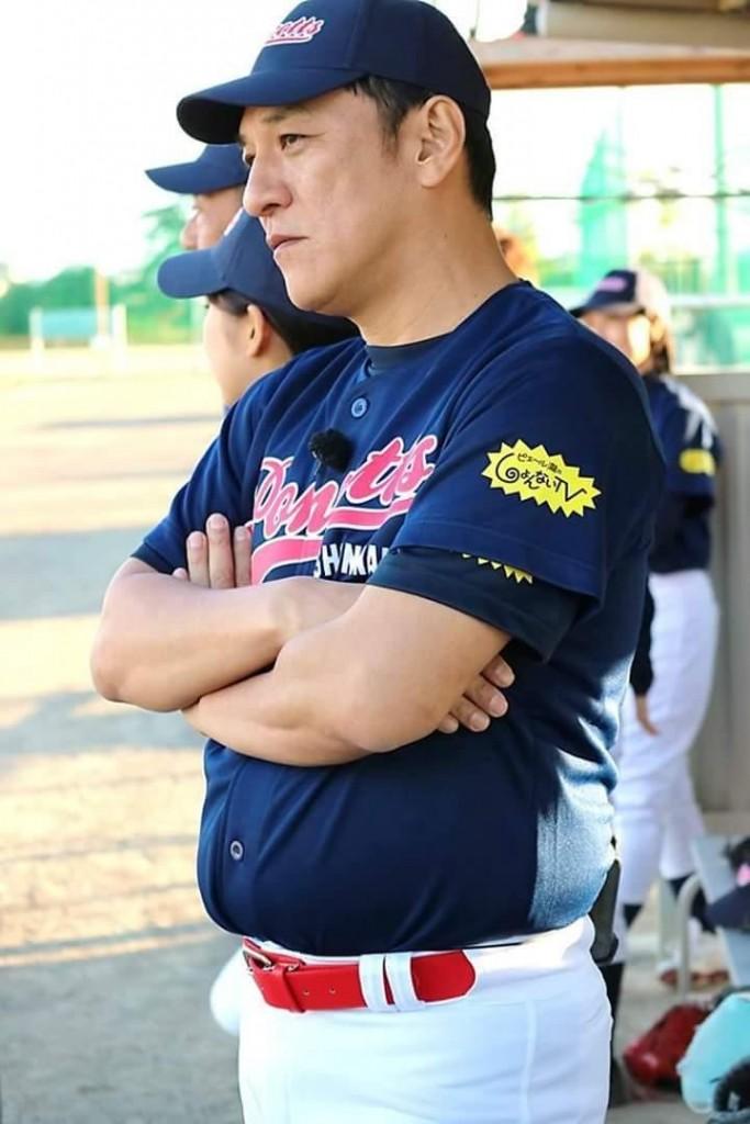 ピエール瀧 草野球