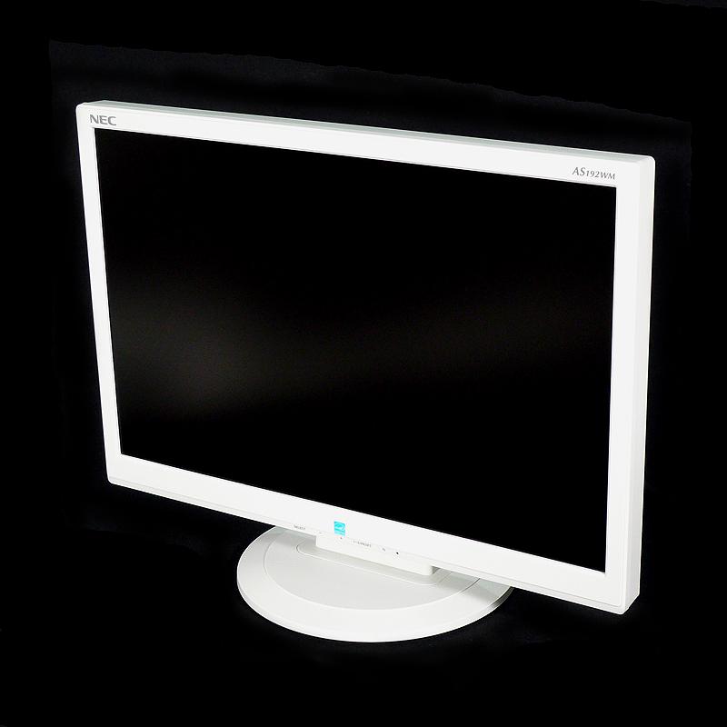 中古 NEC 19型ワイド液晶ディスプレイ(白) LCD-AS192WM-W4