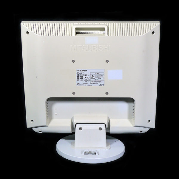 三菱 19インチ液晶モニター RDT195LM背面