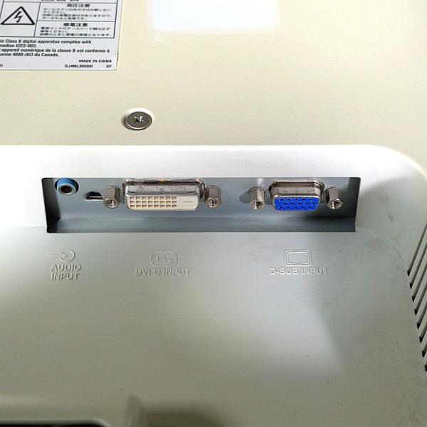三菱 19インチ液晶モニター RDT195LM入力端子