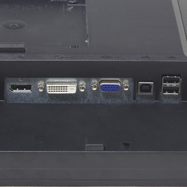 DELL 22インチワイド液晶モニター P2210t 入力端子