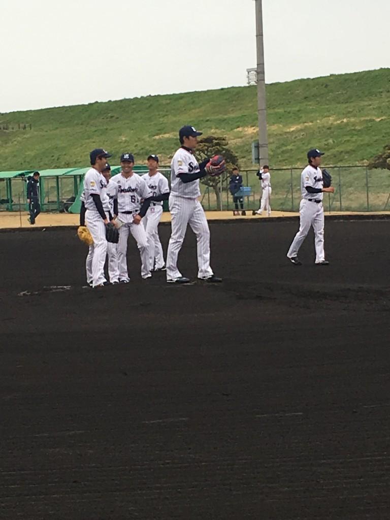 投手陣守備練2