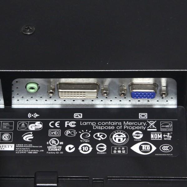 hp Compaq 19インチワイド液晶モニター LE1901wm NP446AA#ABJ入力端子
