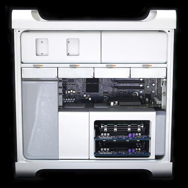 Mac Pro 2.66 GHz Dual Core×2 (4コア) MA356J/A 内部