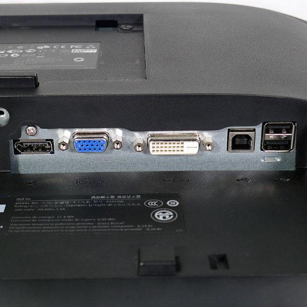 DELL プロフェッショナルシリーズ 19インチ液晶モニター P1913Sb インターフェイス