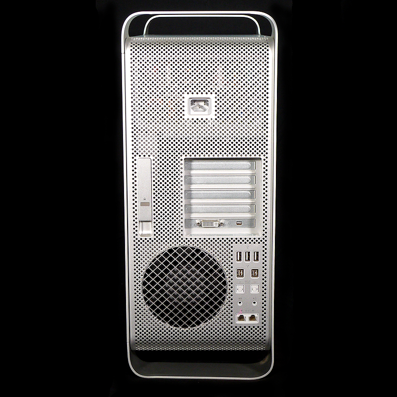 中古Mac Mac Pro (Early 2009) 2.66 GHz Quad Core MB871J/A 後部