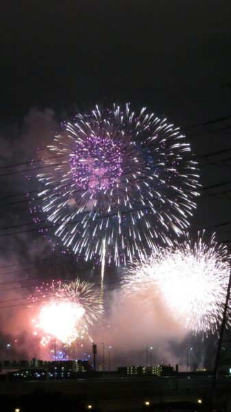 戸田橋花火大会3