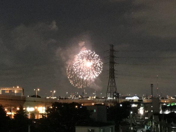 戸田橋花火大会 iPhone 6s Plusで撮影