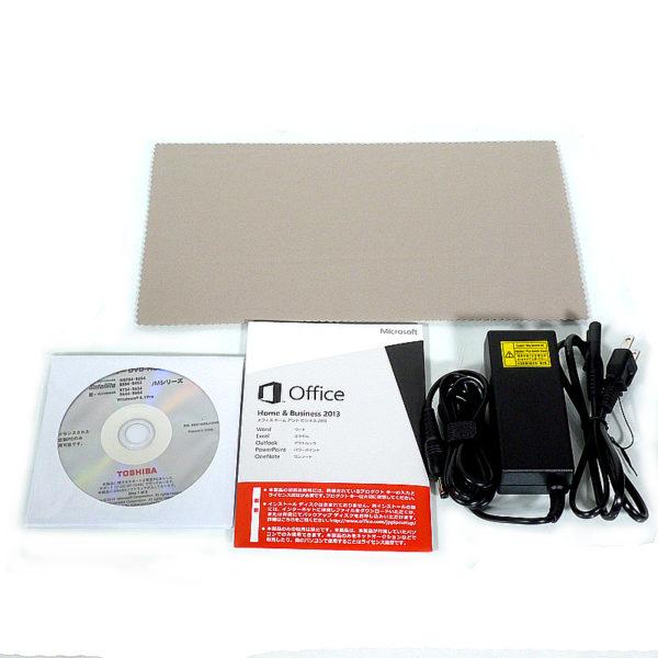 東芝 dynabook R734/M PR734MAA1R7JD31 付属品