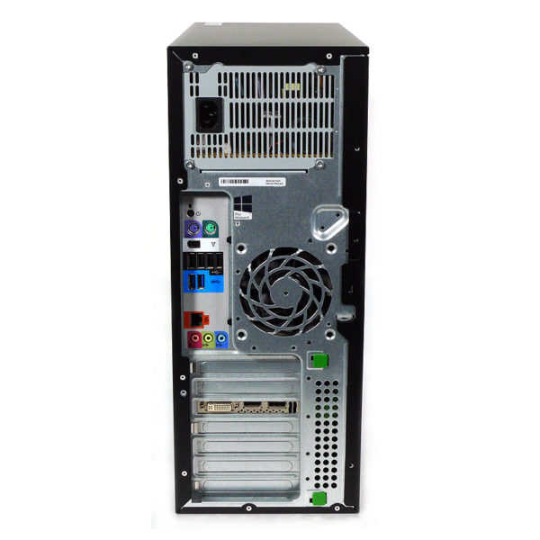 hp Z420 Workstation Xeon 3.7 GHz E3F75EC#ABJ 後部