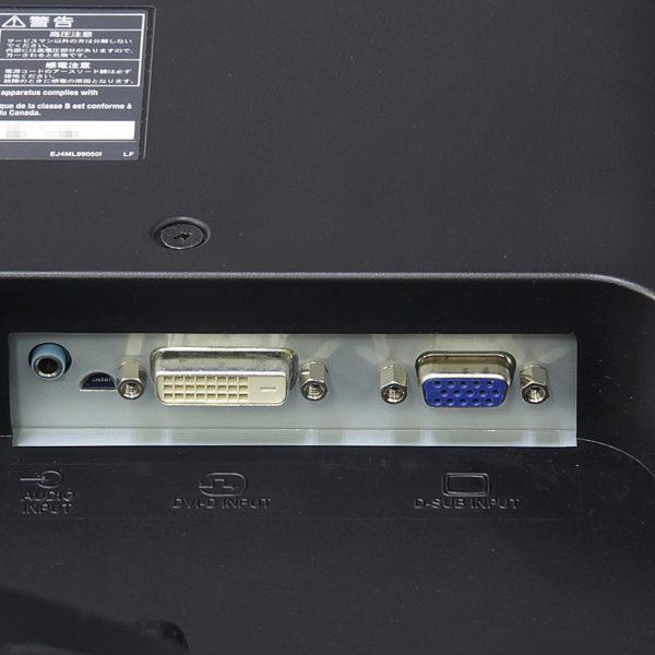三菱 19インチ液晶モニター RDT196LM(BK)入力端子