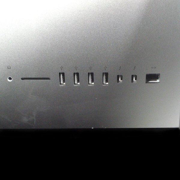 iMac 21.5インチ Core i5 2.7 GHz Late 2012モデル MD093J/A インターフェイス