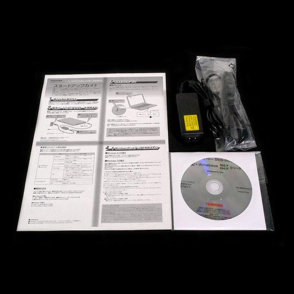 東芝 dynabook R63/P PR63PBAA647AD71 付属品