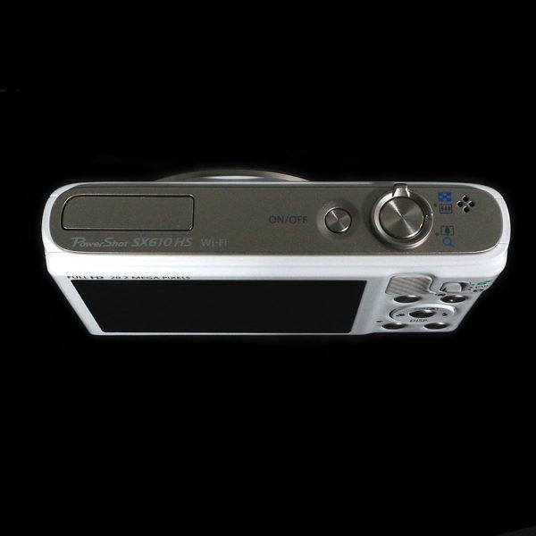 Canon デジタルカメラ Powershot SX610 HS ホワイト 4