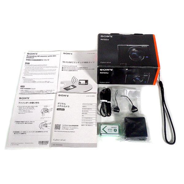 SONY サイバーショット DSC-RX100M4 付属品