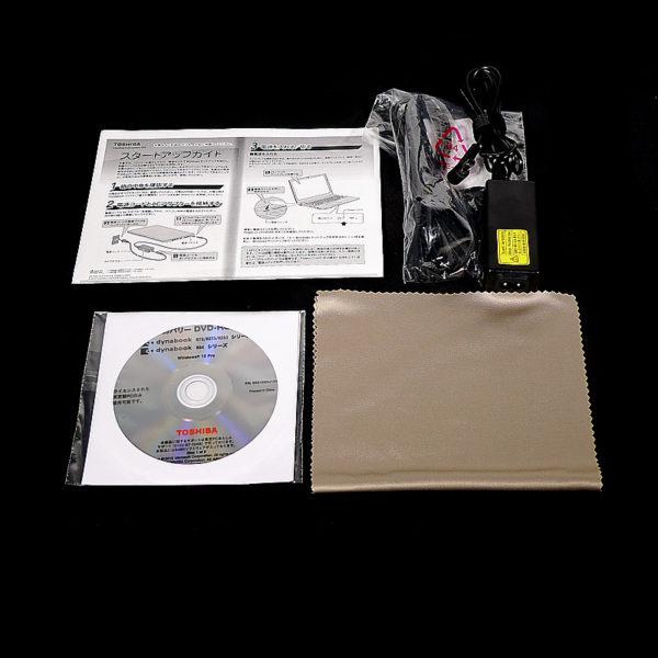 東芝 dynabook R73/T PR73TFAA437ADE1 付属品