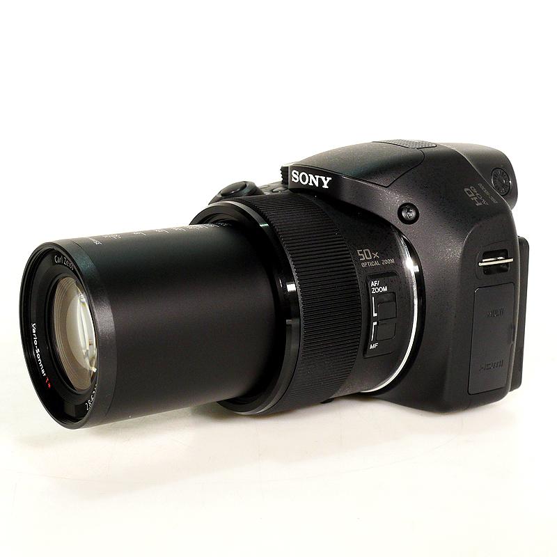 極上中古デジカメ SONY デジタルカメラ Cyber-shot HX300 2110万画素 光学50倍 DSC-HX300-B サイド