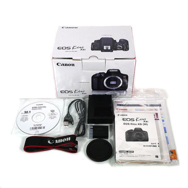 Canon デジタル一眼レフカメラ EOS Kiss X8i ボディ 2420万画素 EOSKISSX8I 付属品