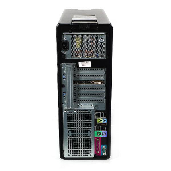 DELL Precision T3500 6コア Xeon 3.46 GHz 後部