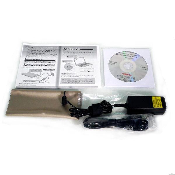 東芝 dynabook R73/U PR73UBAACR7AD81 付属品