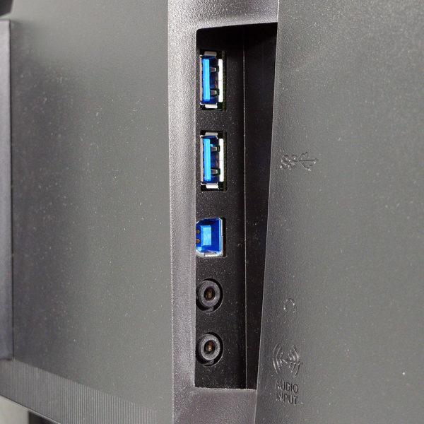 EIZO FlexScan 24.1インチ フレームレス液晶モニター EV2455-BK 入力端子