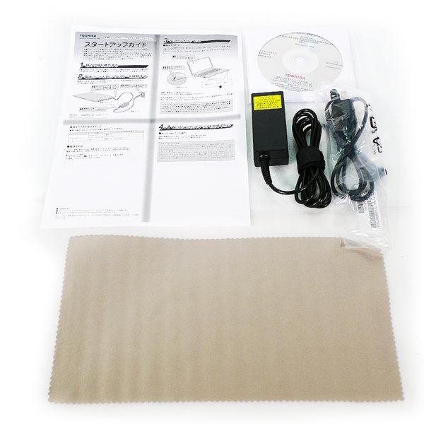 東芝 dynabook R63/P PR63PFAA633AD8H 付属品