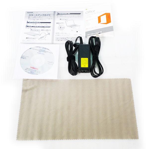 東芝 dynabook R73/A PR73AEADC4BQD11 付属品