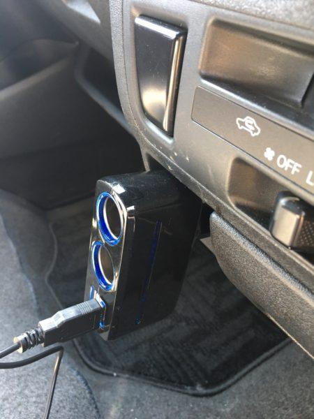 ADDED (アデッド) シガーソケット USB 充電 2連USBポート 12V/24V