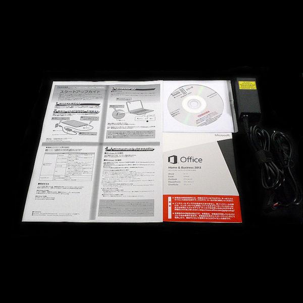 東芝 dynabook Satellite B35/R PB35RFAD4R7JD81 付属品