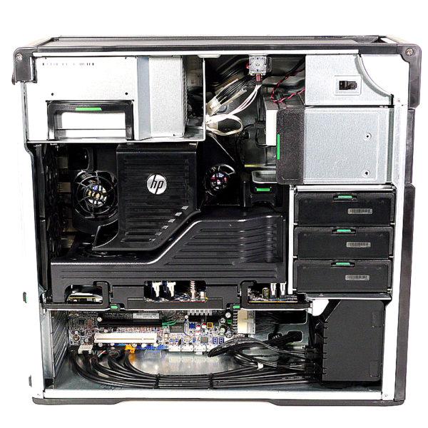 hp Z620 Workstation 8コアXeon 2.4 GHz×2基 LJ450AV 内部