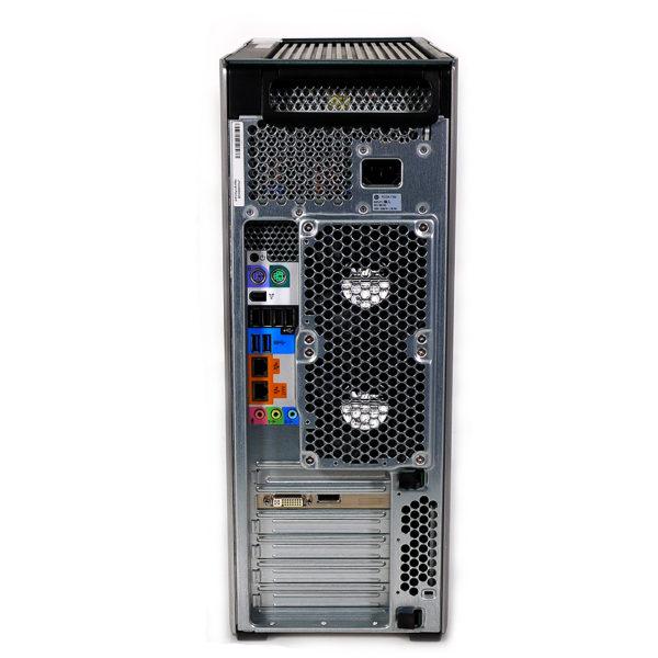 hp Z620 Workstation 8コアXeon 2.4 GHz×2基 LJ450AV 後部