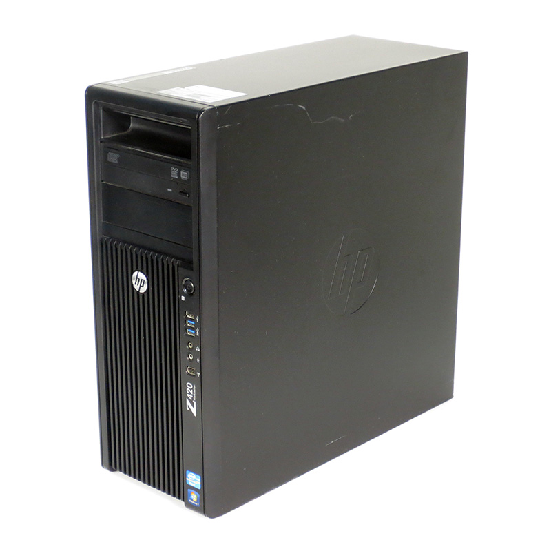 中古ワークステーション hp Z420 Workstation Xeon 3.6 GHz LJ449AV