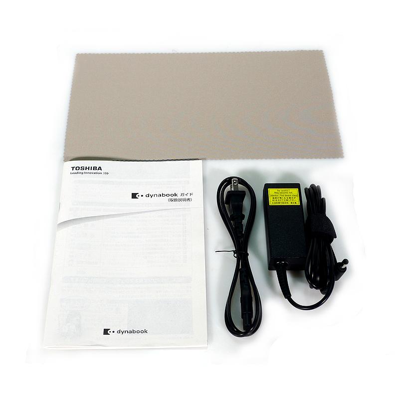 東芝 dynabook RX73/CRE PRX73CRESNLE 付属品