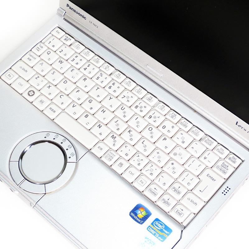 中古ノートパソコン パナソニック Let's note CF-NX2シリーズ CF-NX2JDHYS キーボード