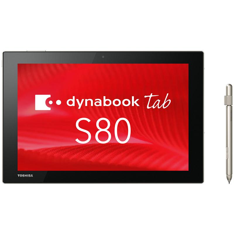 未使用品タブレット 東芝 dynabook Tab S80/B PS80BSGK7L7ADJX