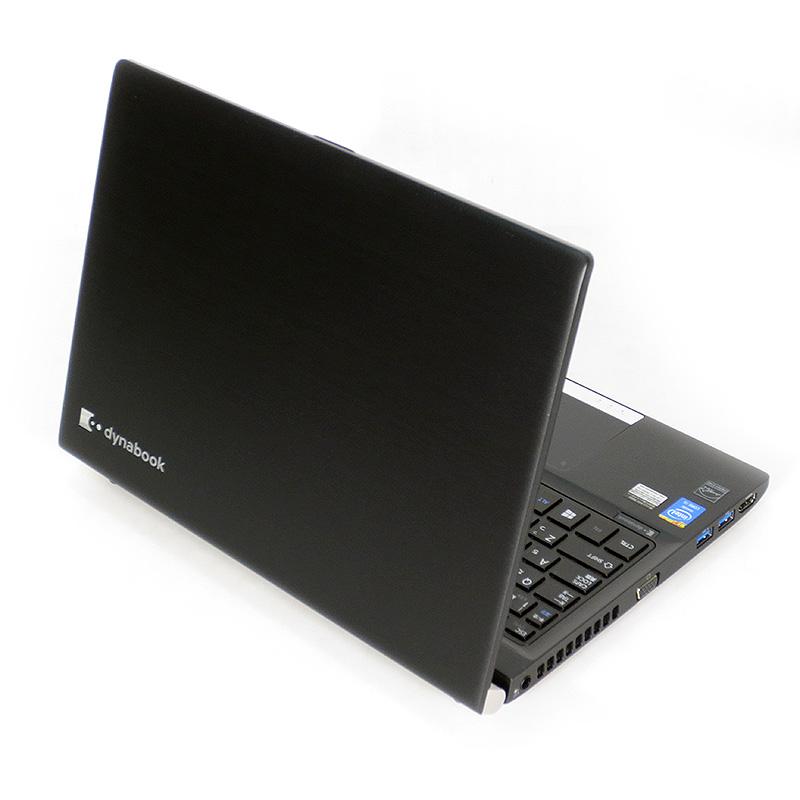 極上中古ノートパソコン 東芝 dynabook R734/E26KB PR73426KSDBE 背面