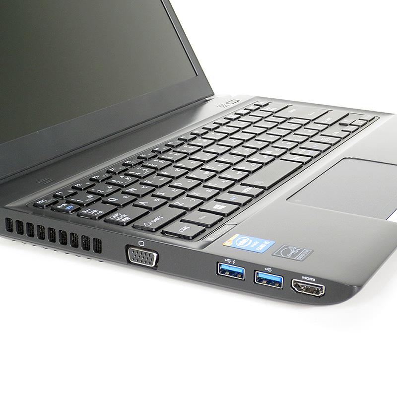 極上中古ノートパソコン 東芝 dynabook R734/M PR734MAF637AD71 サイド