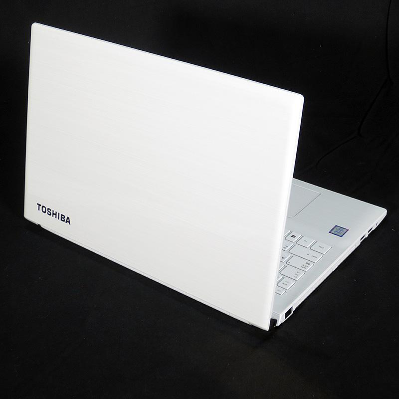 極上中古ノートパソコン 東芝 dynabook EX/65AW PTEX-65ABJW リュクスホワイト 背面